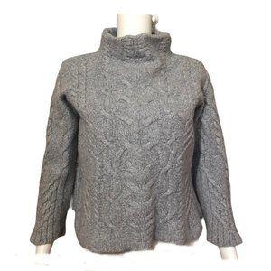 Aran Mor Ireland Merino Wool Cropped Top